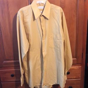 VH gold dress shirt